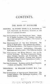 fabian essays in socialism online library of liberty original table of contents or first page