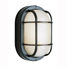 bel air lighting bulkhead 1 light outdoor black wall or ceiling mounted fixture with frosted