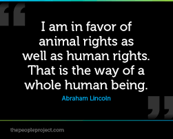Animal Rights Quotes Beauteous Quotes About Animal Rights 48 Quotes