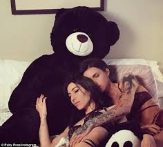 ruby rose and jess origliasso. heating up: ruby rose cuddled up to her girlfriend jessica origliasso as they lazed around and jess o