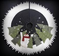 Let it Snow Tabletop Tree Skirt KIT by cheswickcompany by ... & Let it Snow Tabletop Tree Skirt KIT by cheswickcompany by cheswickcompany  on Etsy https:/ Adamdwight.com