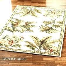 palm leaf area rugs c coast lakeside indoor outdoor palm leaf area rugs tropical