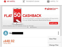 Airtel Vodafone And Idea Postpaid Plan How To Change Your
