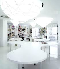 blue white office space. white modern office interior design small space layout and elegant work contemporary blue