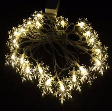 Christmas Snowflake String Lights Decoration \u2013 The Atrio