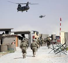 u s department of defense photo essay  crew members of a ch 47 chinook helicopter prepare to land as u s army iers