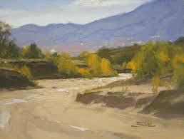sand creek 9x12 inches oil on linen panel sold