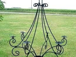 outdoor votive candle chandelier home design ideas non electric lo