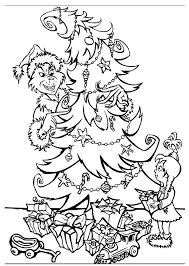 Grinch Coloring Pages For Kids Colorin9