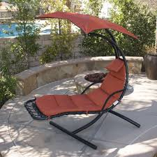 hanging chaise lounge chair hammock swing canopy glider outdoor within chaise lounge umbrella