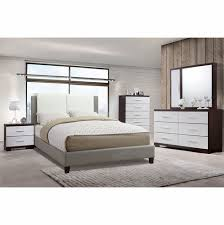 Poundex Associates Item F9337Q: Queen Size Platform Bed Frame
