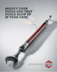 hand tool safety posters. modify wrench educational safety poster hand tool posters 6