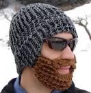 Как связать бороду спицами