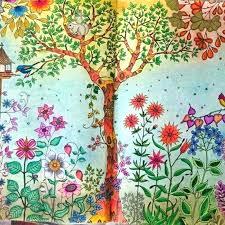 Secret Garden Coloring Book Dopravnisysteminfo