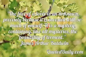 James Arthur Baldwin, Quote - QuotedDaily - Daily Quotes