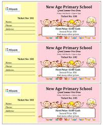 Create Tickets In Word 15 Free Raffle Ticket Templates In Microsoft Word Mail