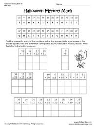Small Picture Halloween Math Sheets for 3rd Grade Fun for Halloween