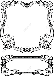antique frame drawing. Antique Frame Engraving, Scalable And Editable Illustration Stock Vector -  13634321 Antique Frame Drawing
