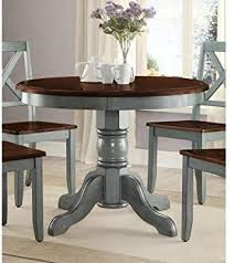 42 round table top easily ac modates seating
