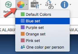 Gantt Chart Colors How To Customize The Colors Used In The Gantt Chart
