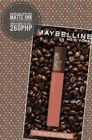 Coffee, yogurt and oatmeal face pack: Maybelline Super Stay Matte Ink Coffee Edition Beauty Personal Care Face Makeup On Carousell