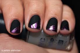 Nail Arts : Cute Black Nail Polish Art Designs Black Nail Polish ...