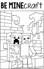 Minecraft Coloring Pages To Print Printable Coloring Pages Or For To
