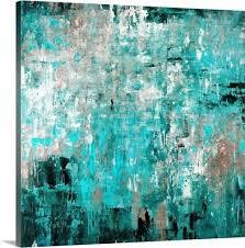 sea glass canvas wall art print home