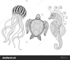 Animals And Music Coloring Pages For Kids Printable Coloring Page