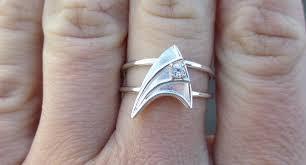 Star Trek Bathroom Accessories Custom Order Chrisgoreslovespray Sterling Silver Engagement