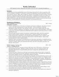 Sample Management Consulting Resume Unique Consultant Resume Sample