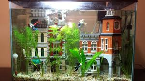 Funny Fish Tank Decorations My Lego Fish Tank Fish Tanks Lego And Tanks