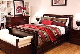 Mahogany Bedroom Suite Antoinette 4 Piece Mahogany Bedroom Suite