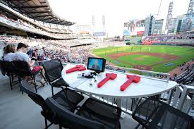 With So Many Choices At Suntrust Park How Fans Found Their Spot