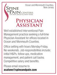 Physician Assistant Job In Ocean And Monmouth Counties New Jersey ...
