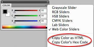 Rgba Color Chart