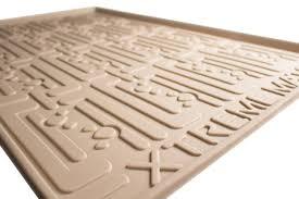 com xtreme mats under sink kitchen cabinet mat 33 5 8 x 21 7 8 beige