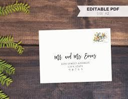 A2 Card Template Word Kf8 Descargar A2 Rsvp Note Card Envelope Template Diy