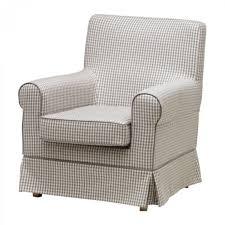 ikea rp jennylund armchair slipcover cover sagmyra gray grey check housse chaise canape bleu housses lit causeuse longue double fauteuil repos klippan