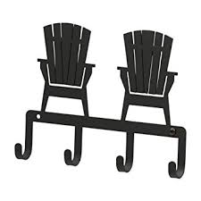 adirondack chair silhouette. Delighful Silhouette KH119 Adirondack Chair Silhouette Black Metal Key Holder Intended I