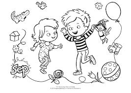 Kleurplaten Uit De Leukste Kinderboeken Bijvoorbeeld Van Bobbi