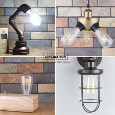 Retro Vintage Led Edison Bulb 220v 4w E27 Led Bulb Led Filament