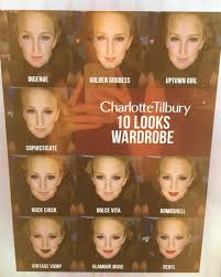 charlotte tilbury has debuted a magic mirror that gives you 10 looks with the snap of a photo