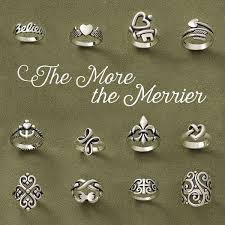 rings the more the merrier someone and let them know if you james avery