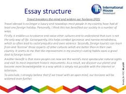teaching essay writing    contrast essay     travel