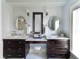apartment fabulous bathroom vanities with makeup table 4 sinks