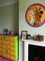 Scooby Doo Bedroom Decor Scooby Doo Mural