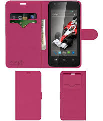Xolo A500L Flip Cover by ACM - Pink ...