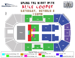 Spend The Night W Alice Cooper Ralston Arena
