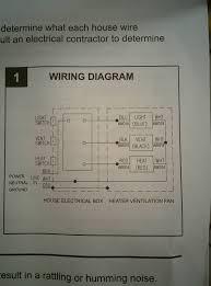 Fan And Light Wiring Bathroom Light Fan Heater Wiring Bathroom Exhaust Fan